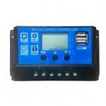 20A太陽能充電控制器 | 帶USB接口