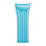 熒光浮排水上充氣浮床 - 藍色