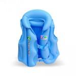 兒童游泳充氣救生衣背心