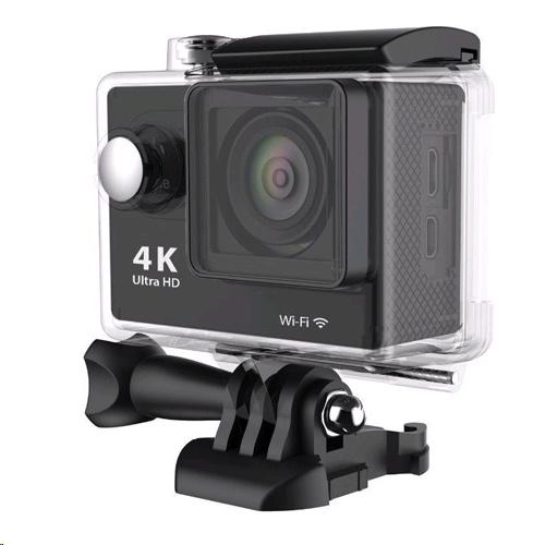 H9 4K全高清WIFI防水運動相機 | 1200萬像鏡頭 - 黑色