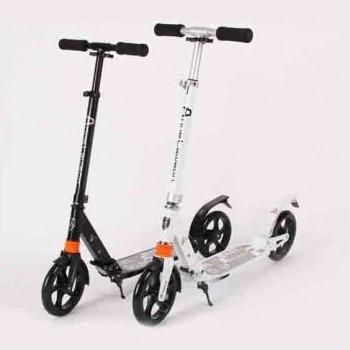 成人折疊鋁合金腳踏滑板車 | 雙減震系統