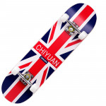 成人楓木入門級雙翹滑板 | 街頭花式滑板 - 英倫風