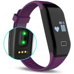 H3 藍牙防水運動智能手環 | 可測心率及睡眠監測 - 紫色
