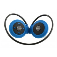Mini503 運動後掛式折疊藍牙耳機 | 插卡+FM+藍牙三合一