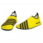 水上活動潛水鞋 | 浮潛風帆沙灘鞋 - 黃色(XXXL)