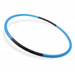 80cm 可拆卸瘦身按摩呼拉圈 - 藍色