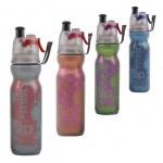 美國 O2COOL 12OZ運動保冷噴霧水樽 水壺水瓶