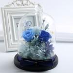 ETERNA 玻璃罩永生玫瑰花 | 小花園系列