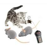 遙控老鼠 貓貓最愛 - 咖啡色