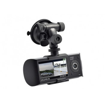 R300 2.7寸 GPS軌跡行車記錄儀 | 前後雙錄