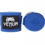 VENUM 純棉拳擊紮手帶 2.5米款 Hand Wraps - 藍色