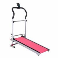 Mini foldable home treadmill machine