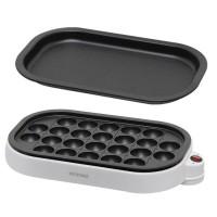 日本 IRIS ITY-24W -W 章魚燒電煎板 | 燒肉烤盤
