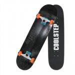 COOLSTEP 楓木進階雙翹滑板 - 黑色