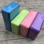 EVA 淨色瑜珈磚 - 紫色