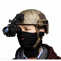 PVS-14 night vision head-mounted digital infrared | infrared night vision monocular telescope American helmet