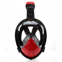 THENICE whole dry snorkel mask antifogging