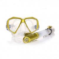 THENICE semi-dry snorkel goggles