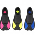 TOPLORD scuba diving flippers flippers short body