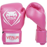 Venum CONTENDER 專業成人泰拳拳套 - 10oz 粉紅色