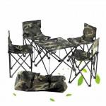 便攜背包式折疊桌椅5件套裝