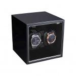 INTIME 雙錶位自動上鏈自轉錶盒 - 黑色