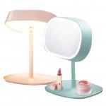 MUID LED檯燈化妝鏡 | 內置充電 - 白色