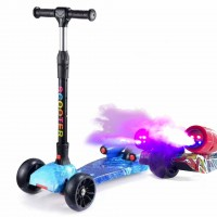 Foldable Children Scooter spray ScooTer