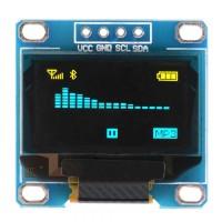 Arduino 0.96寸 OLED I2C/IIC 液晶屏 | 128*64分辨率