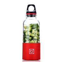 BINGO USB充電式防水電動榨汁杯 | 隨身果汁杯 - 紅色