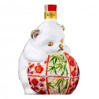 Mino pottery bottle of Suntory whiskey Dog zodiac | zodiac wine