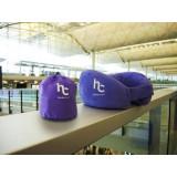Handycosy 捲得埋超柔軟記憶旅行頸枕 - 紫色