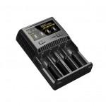 NITECORE SC4  專業快速萬用鋰電池充電器 | 可充18650及多款電池