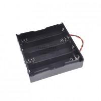 Arduino 18650 四節串聯電池盒 3.7v
