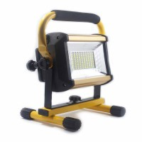 Rechargeable outdoor projector lamp 100W