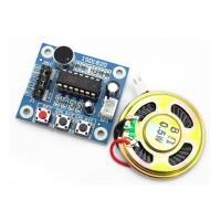 Arduino ISD1820 錄音模組連0.5W喇叭