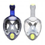 THENICE second-generation anti-fog Adult all-dry snorkel mask