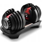 24KG 快速調節啞鈴單手| 重量可調節家用健身器材 2.3KG-24KG ( 限時優惠 )