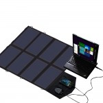 X-DRAGON 40W waterproof bag folded solar charger | intelligent fast charge rechargeable Laptop