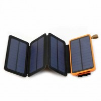 10000mAh folding Solar Power | Sizhe efficient light absorption