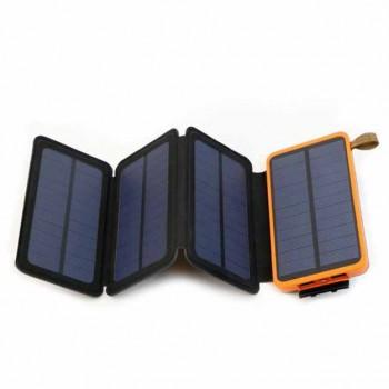10000mAh 折疊太陽能移動電源 | 四摺高效吸光