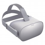 Oculus Go VR virtual reality device worn 32GB version
