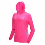 戶外防曬降溫風扇衣服 | 夏日消暑空調長袖風衣 冷凍衣 - 粉紅色M碼