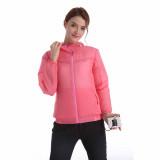 BEYOND WIND 戶外對流風扇防曬風衣 - 粉紅色M碼   空調衣 降溫長袖風衣風褸  冷凍衣 風扇衣 連電池可調風速