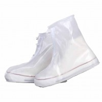 Thick waterproof rain shoe covers