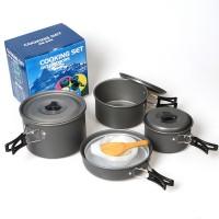 DS500 4-5人戶外露營套鍋  | 戶外多功能套鍋 野營套鍋 COOKSET
