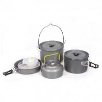 DS700 5-6人戶外露營套鍋   戶外多功能套鍋 野營套鍋 COOKSET