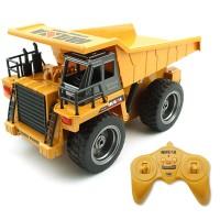 HUINA 6-channel alloy remote control dump truck | remote control vehicle