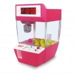創意多功能夾公仔機鬧鐘 | 夾糖機抓娃娃機 - 粉紅色