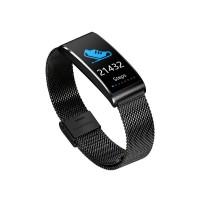 X3 metal strip waterproof sports smart bracelet | IP68 waterproof heart rate monitor, blood pressure monitor